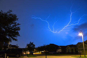 Florida Community Is Lightning Capital of the United States