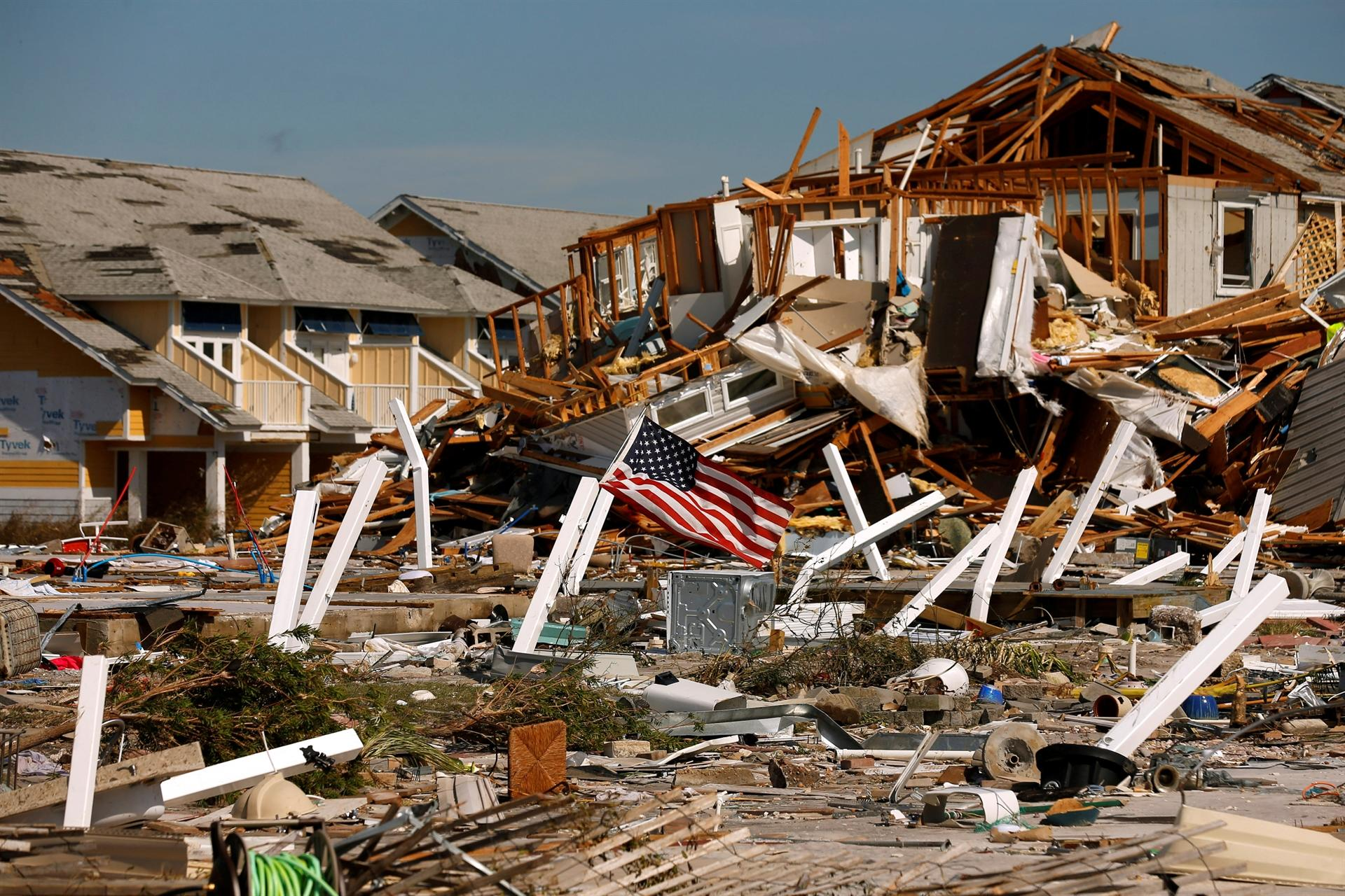 Hurricane Michael debris could leave major fire threat for parts of Northwest Florida