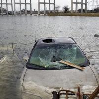 Destruction of a Hurricane.