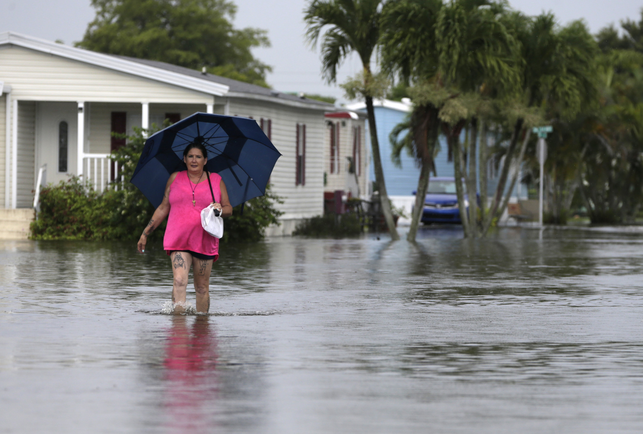 'Water is what's killing people:' Hurricanes could drench Florida in catastrophic flooding