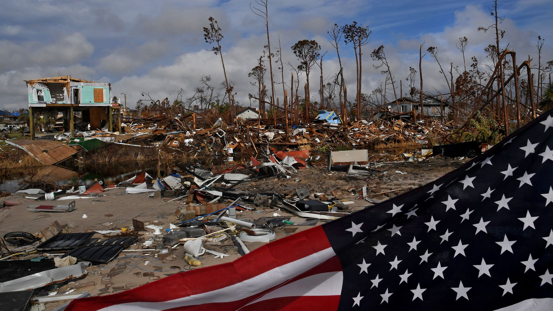 First Hurricane Michael hammered the Panhandle. Now survivors fear fires, floods.