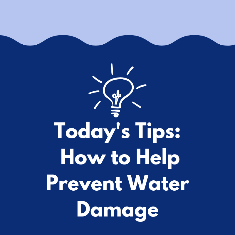5 Tips to Help Prevent Water Damage