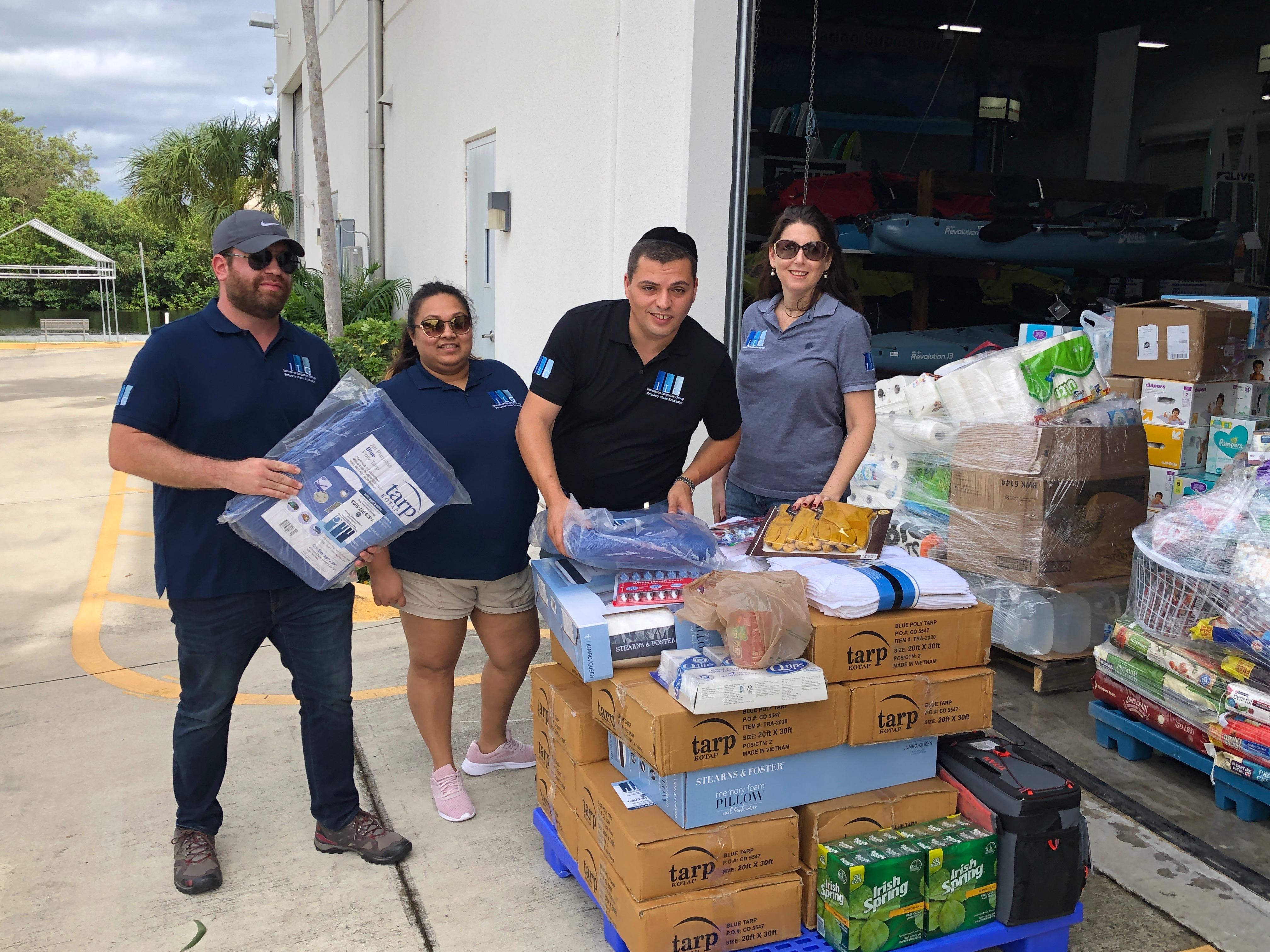 ILG joins Hurricane Dorian Relief Effort by Donating Several Large Tarps and Supplies for Residents of the Abacos and Bahamas and Launches Hurricane Dorian Help Center on Facebook
