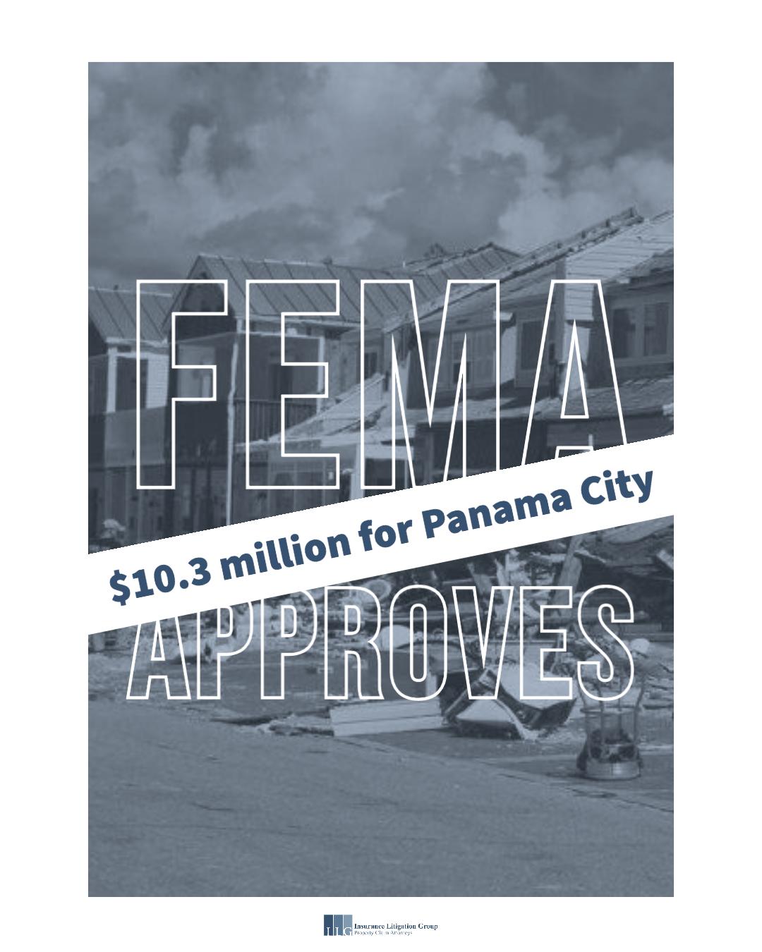 FEMA approves additional $10.3 million for Panama City