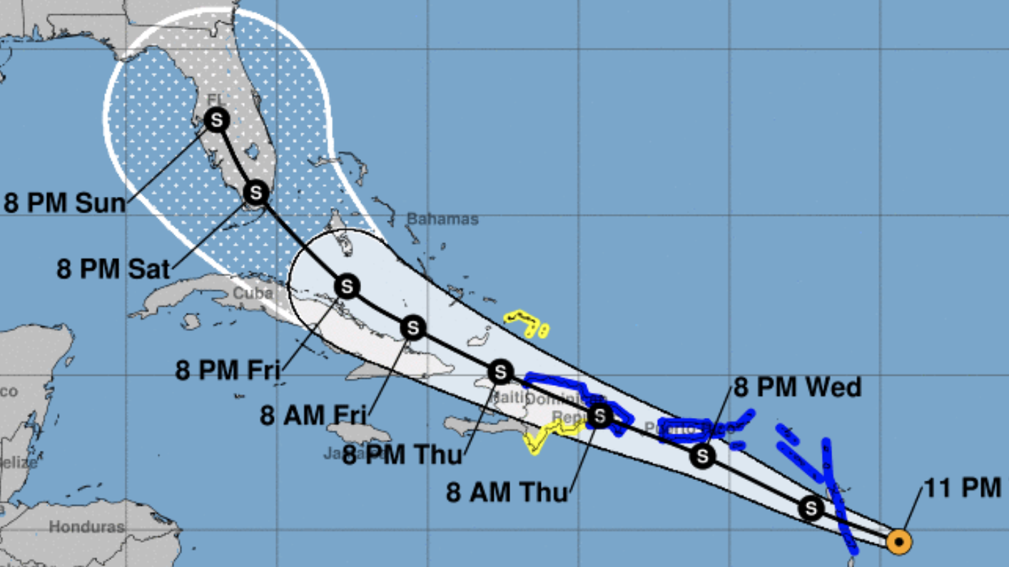 Hurricane Isaias Causes Miami-Dade to Close Parks, Marinas, Golf Courses in Preparation for Possible Effects