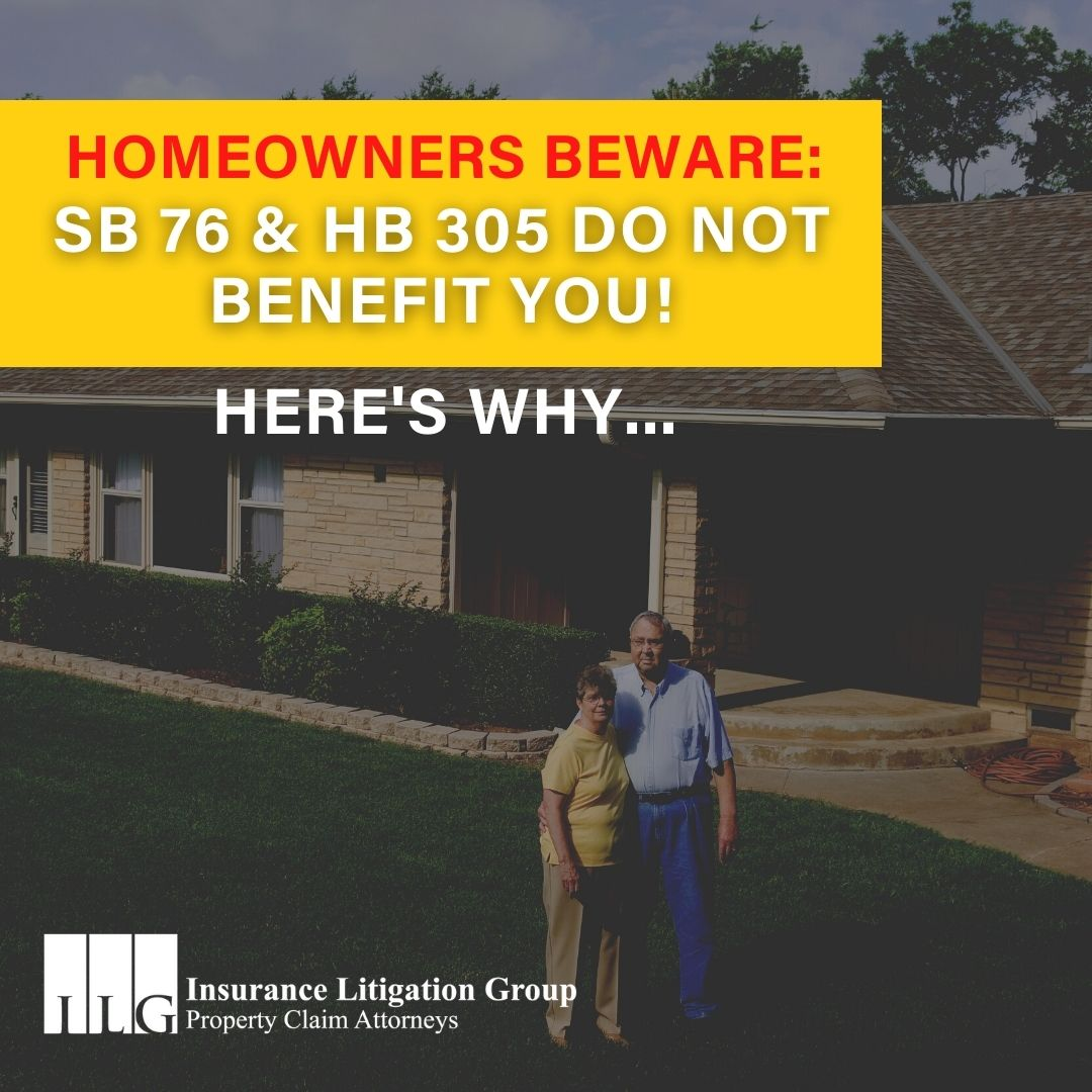 HOMEOWNERS BEWARE: SB 76 & HB 305 Do NOT Benefit You! Here's Why…
