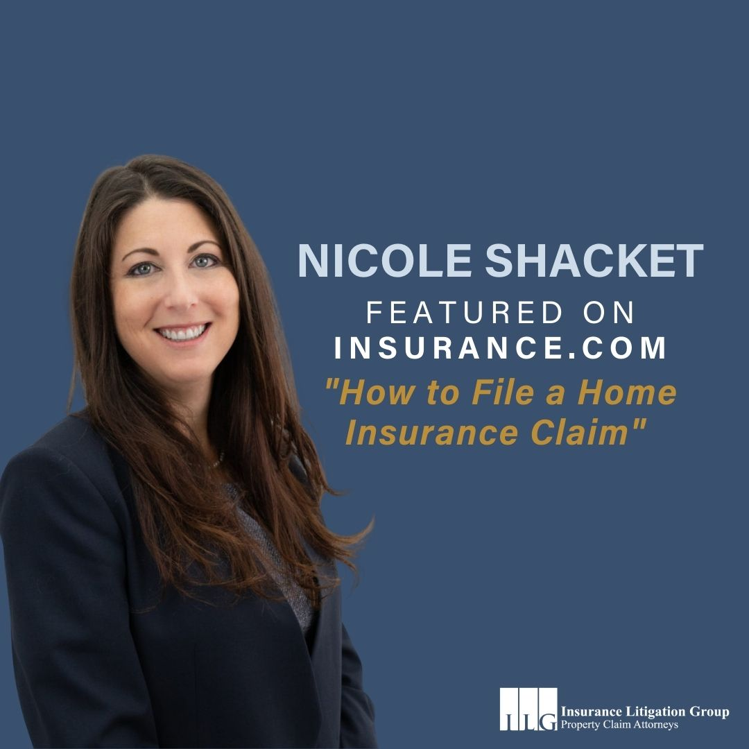 "ILG's Nicole Shacket Shares Tips on ""How to File a Home Insurance Claim"" | Insurance.com"
