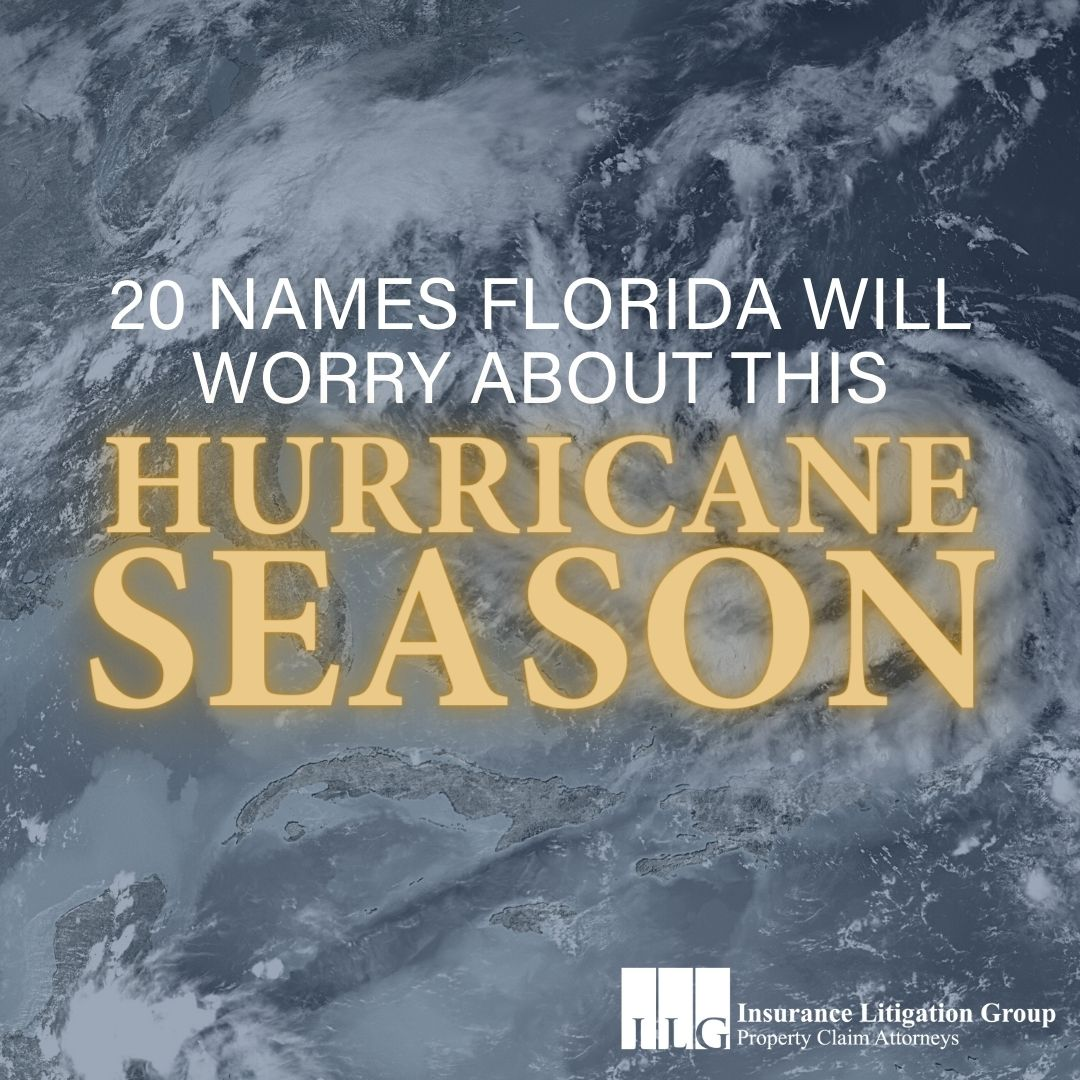20 Names Florida will Worry About this Hurricane Season